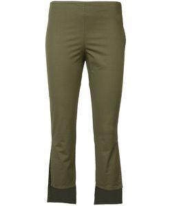 Hache   Asymmetric Cropped Trousers 42