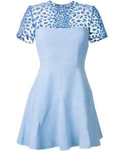Alex Perry | Emmerson Dress 8 Suede/Nylon/Viscose