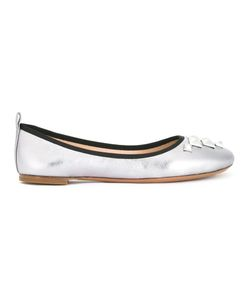 Marc Jacobs | Cleo Studded Ballerina Flats 41 Leather/Goat