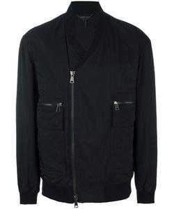 Helmut Lang | V-Neck Bomber Jacket Small