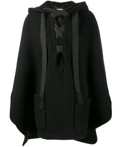 Chloé | Hooded Cape Small Virgin Wool/Polyamide/Cotton