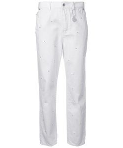 Muveil   Pearl Embellished Jeans