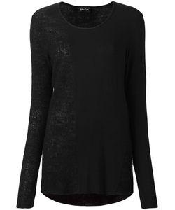 Andrea Ya'aqov | Curved Hem Top Xs Modal/Virgin Wool/Cashmere/Viscose