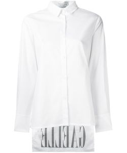 Gaelle Bonheur | High Low Hem Shirt 46 Cotton