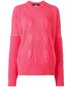 Junya Watanabe Comme Des Garçons   Geometric Pattern Sweater Small