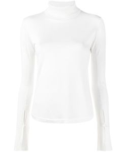 Chloé | Turtleneck Jumper Large Virgin Wool/Silk/Cashmere