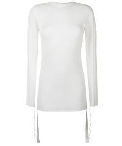 Helmut Lang | Round Neck Jumper Small Wool/Polyester/Polyurethane