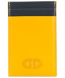 Salvatore Ferragamo | Double Gancio Standing Cardholder Calf Leather