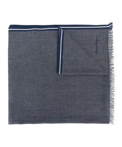 Salvatore Ferragamo   Patterned Striped Edge Scarf Cotton