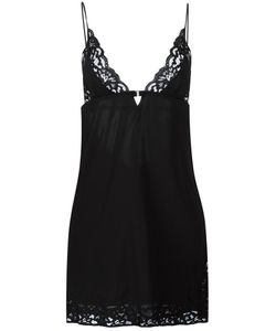 Fleur Du Mal | Charlotte Lace Slip Medium Silk