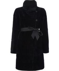J. Mendel   Sheared Reversible Coat 8 Mink Fur/Nylon