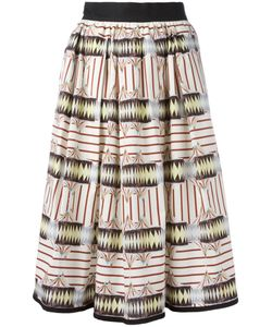 I'M Isola Marras | Printed Midi Skirt Size 42