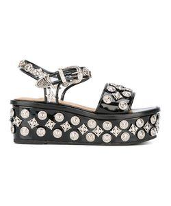 Toga Pulla | Studded Platform Sandals 38