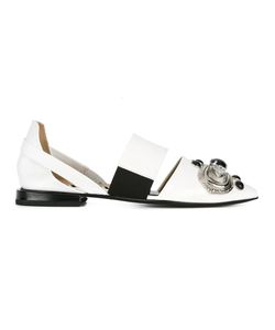 Toga Pulla   Embellished Cut-Out Slippers 40