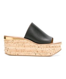 Chloé | Camille Wedge Mules 36