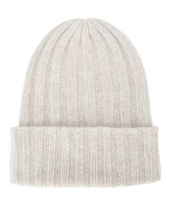 The Elder Statesman | Short Bunny Echo Beanie Adult Unisex Cashmere