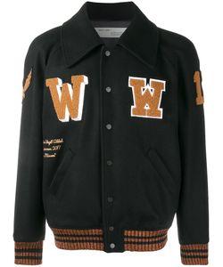 Off-White | Patch Detail Varsity Jacket Medium