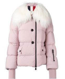 Moncler Grenoble | Goat Fur Padded Short Coat 1