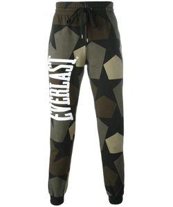 Ports | 1961 Camouflage Print Track Pants Medium Cotton