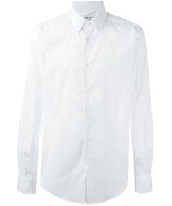 Fashion Clinic | Classic Plain Shirt 39 Cotton/Polyamide/Spandex/Elastane