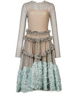 Jourden | Longsleeved Asymmetric Midi Dress