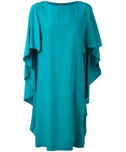Alberta Ferretti   Waterfall Sleeve Dress