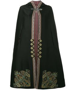 Etro | Embroidered Hooded Cape 40