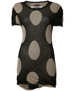 Uma Wang | Circles Print T-Shirt Small Cotton