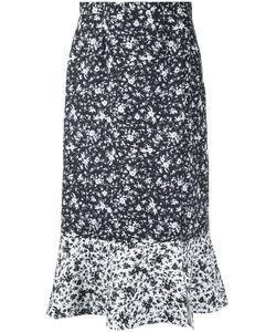 Le Ciel Bleu | Print Midi Skirt Size