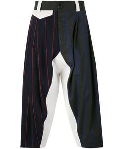 Vivienne Westwood   Multi-Stripes Drop-Crotch Trousers Men