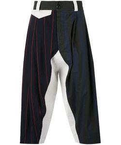 Vivienne Westwood | Multi-Stripes Drop-Crotch Trousers