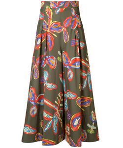 Peter Pilotto | Print Wide-Leg Trousers Size 12