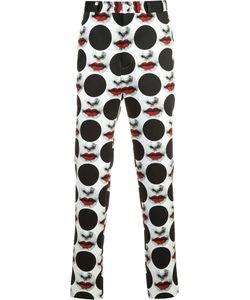 Comme Des Garçons Homme Plus   Inkjet Print Trousers Size Large