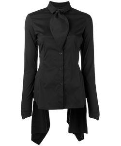 Masnada | Collar Trim Shirt 42 Cotton/Polyamide/Spandex/Elastane