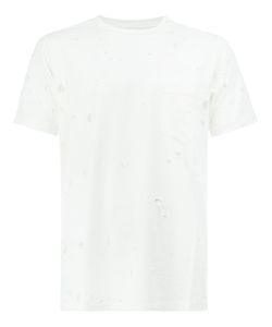 The Soloist | Distressed Short Sleeve T-Shirt Size