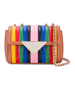 Sara Battaglia | Striped Shoulder Bag Women