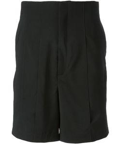 Thamanyah   Panelled Tailored Shorts 48 Wool