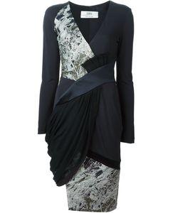Linda Farrow Gallery | Brocade Panel Dress