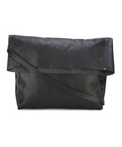 Werkstatt:München | Strap Detail Shoulder Bag Adult Unisex Calf Leather
