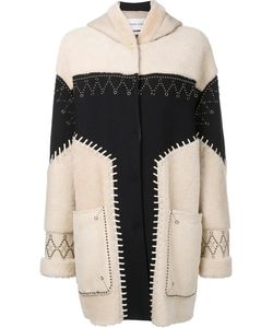 Prabal Gurung | Studded Shearling Coat 4