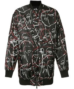 Haculla | Abstract Print Bomber Jacket Xl