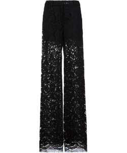 Adam Lippes | Lace Relaxed Leg Trousers