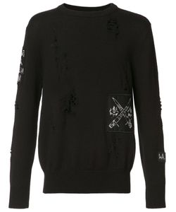 Haculla | Destroyed Effect Jumper Xl Wool