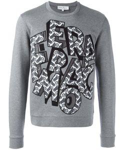 Salvatore Ferragamo | Capsule Now Detail Logo Sweatshirt Small Cotton