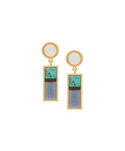 Lizzie Fortunato Jewels | Cuban Column Earrings