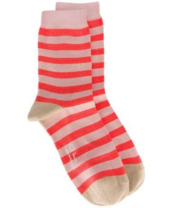 Paul Smith Black Label | Striped Socks Cotton/Polyamide/Polyester/Spandex/Elastane