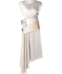 Dusan | Asymmetric Draped Dress