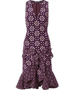 Holly Fulton | Print Ruffle Dress