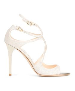 Jimmy Choo | Lang 100 Sandals 35 Calf Leather/Leather/