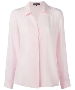 Salvatore Ferragamo | Concealed Spread Collar Shirt 40 Silk